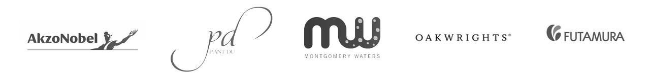 Akzo nobel, Pant Du, Montgomery Waters, Oakwrights & Futamura