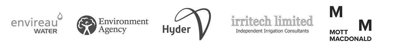 Envireau Water, Environment Agency, Hyder, Irritech Limited, Mott McDonald